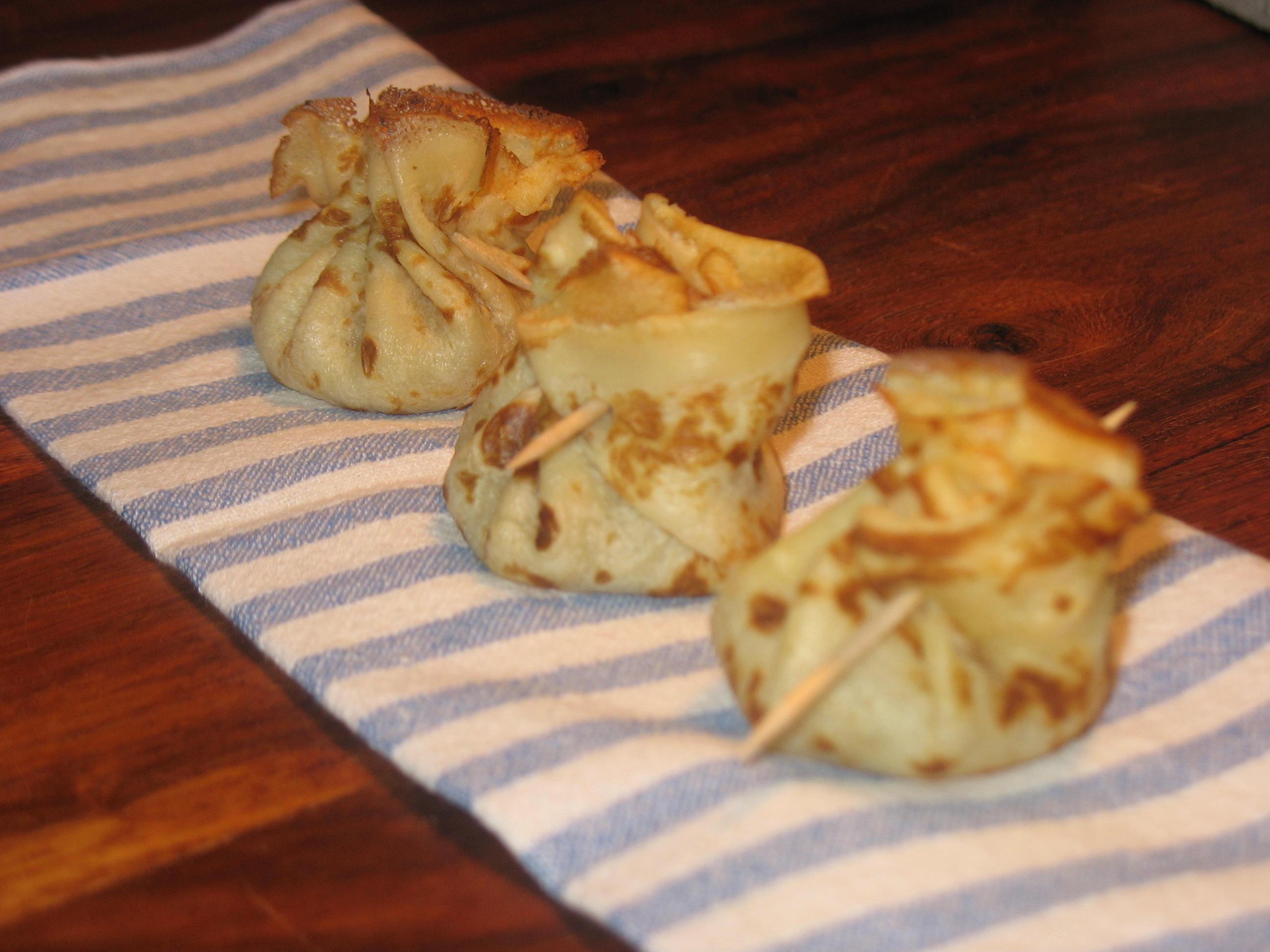 la cuisine de dom 187 mini aumonieres pommes poire canelle et beurre sale